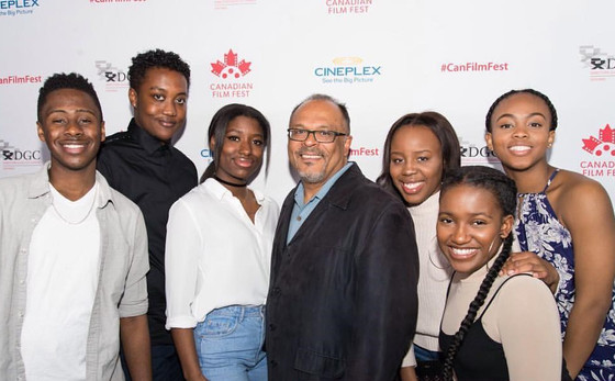 Alfons and Young  Filmmakers-Canadian Filmmakers at Love Jacked  Canadian Film Fest screening