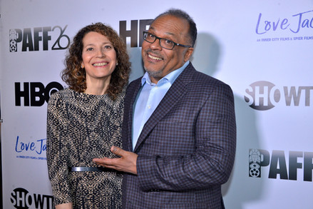 Love Jacked Opening Night Premiere  Alfons Adetuyi and Lisa di Michele