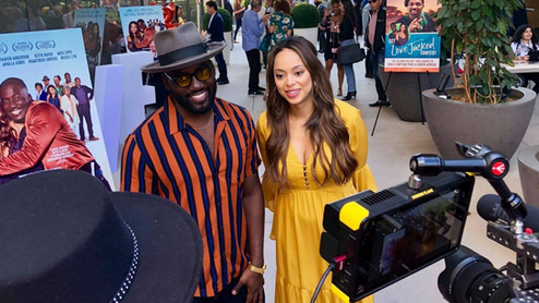 LOVE JACKED  - 360  Experience  Take a 360 VR tour of LOVE JACKED private reception and screening at UTA Theaters in Los Angeles. Leads Amber Stevens West, Shamier Anderson along with the incomparable Marla Gibbs and the film's director Alfons Adetuyi were on deck for the pre-screening mixer and Q&A.