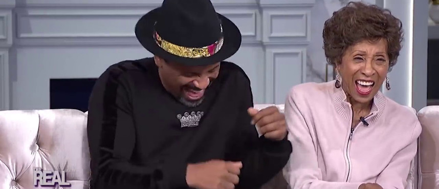 """A clip from The Real interview with Mike Epps & Marla Gibbs on the romantic comedy """"Love Jacked"""" directed by Alfons Adetuyi."""