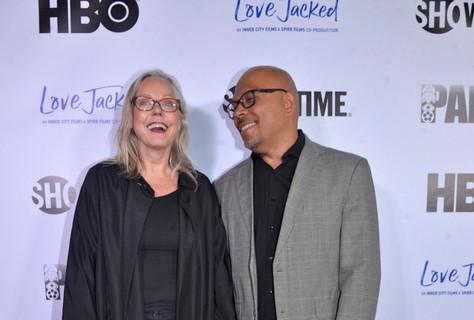 Linda Eskeland and Robert Adetuyi