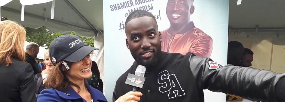FIRST WEEKEND CLUB: Shamier Anderson sharing the breakdown of the romantic comedy, Love Jacked that he's starring in.  We caught up with him at the 30th annual Canadian Film Centre BBQ at TIFF2018.  The film hits theatres across Canada on Fri Nov 30th!