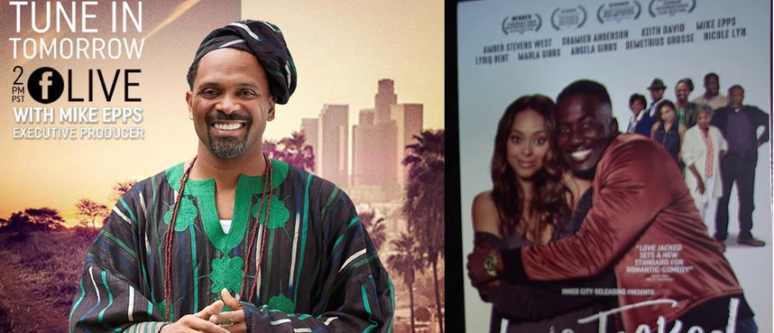 UINTERVIEW: Mike Epps FB Live answer fans questions.