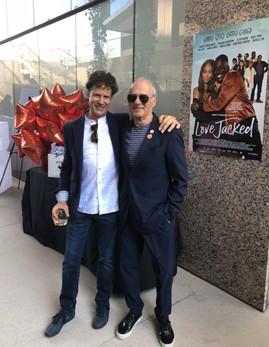Gary Shapiro and music   Supervisor Frank Fitzpatrick at Love Jacked LA screening