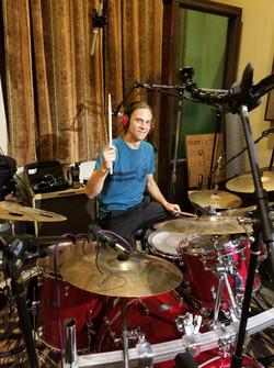 Recording studio for The Dropper's album