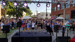 Crowd shot for Rock & Rye @ Dancing in the Streets Festival