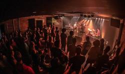 Crowd shot of Phamous Mockingband