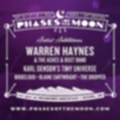 Phases of the Moon 2015 Warren Haynes