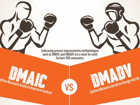 PDCA, DMAIC e DMADV. O que são e qual a diferença entre eles?