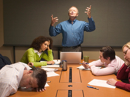 Dicas para tornar as reuniões menos chatas e mais produtivas