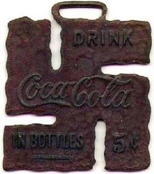 suastica e coca-cola