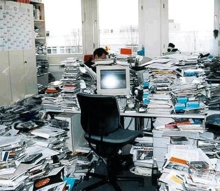 organize seu espaço