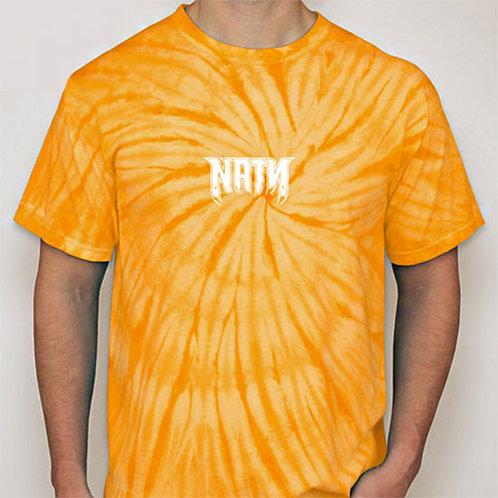 Original Logo Tie-Dye T-Shirts Gold