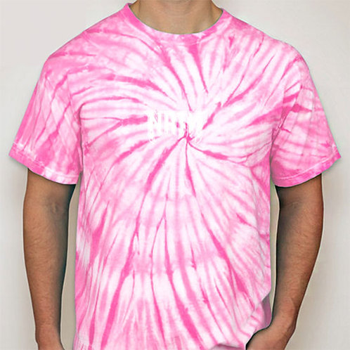 Original Logo Tie-Dye T-Shirts Pink