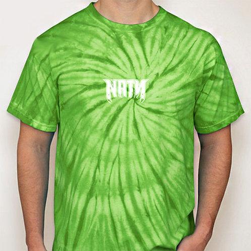 Original Logo Tie-Dye T-Shirts Lime
