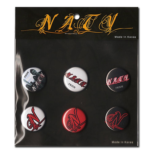 NATY Pride Logo 1inch Button Pakage