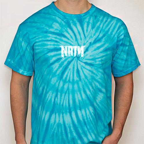 Original Logo Tie-Dye T-Shirts Turquoise