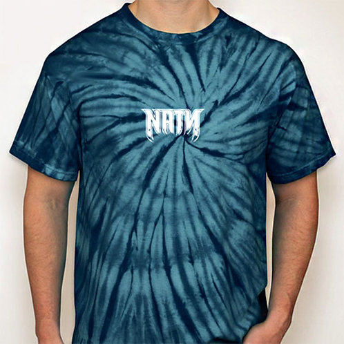 Original Logo Tie-Dye T-Shirts Navy