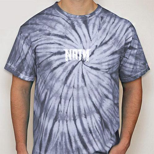 Original Logo Tie-Dye T-Shirts Silver