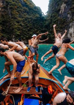 Pilleh Lagoon, Koh phi Phi Leh
