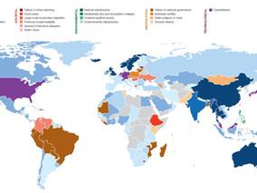 Principales riesgos al contratar según países