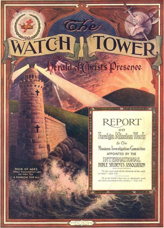 Revista: A Torre de Vigia de Sião e Arauto da Presença de Cristo.