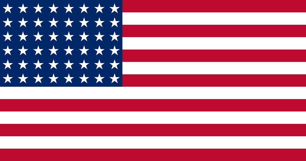 Atual bandeira americana