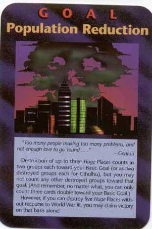 Carta do jogo Illuminati, lançado entre 1990 e 1995.