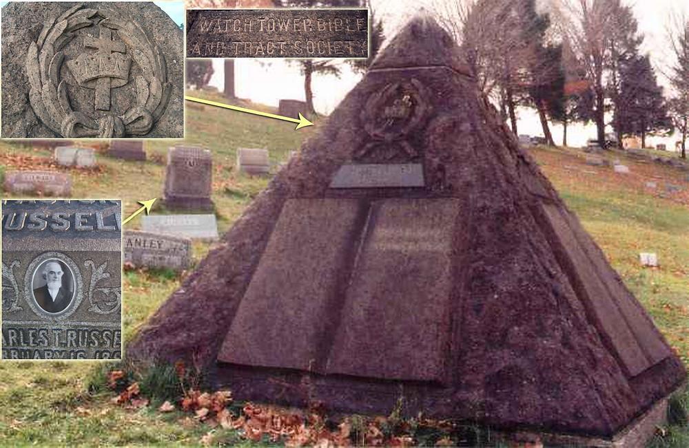Pirâmide sobre o túmulo de Russel