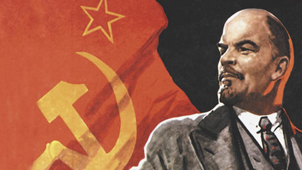 Lenin e o comunismo.