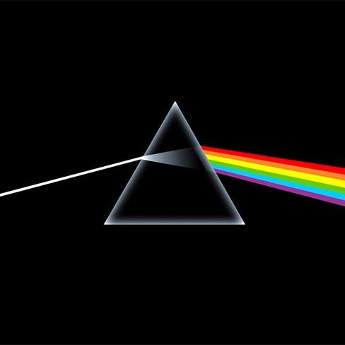 Pirâmide de prisma.
