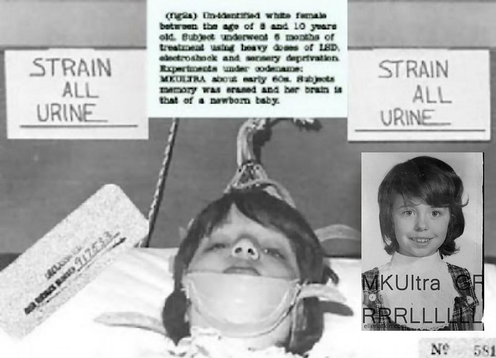 Imagem de uma vítima do projeto.