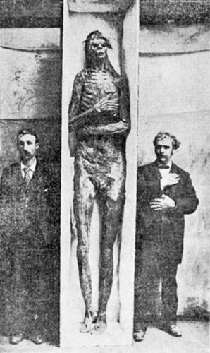 A múmia de San Diego, EUA.