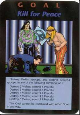 Carta do jogo illuminati