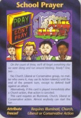 Carta do jogo illuminati - Escola de oração