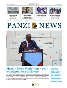 Couverture PANZI NEWS - Decembre 2019.pn