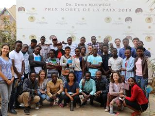 Des jeunes du Fonds Ngangi découvrent l'Hôpital et la Fondation Panzi