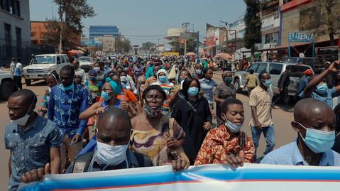 A Bukavu, des milliers des manifestants disent non aux menaces contre le Docteur Mukwege, réclament