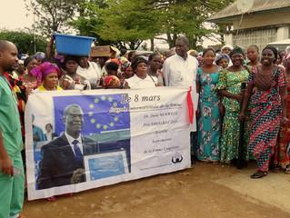 Journée Internationale de Lutte pour les Droits de la Femme: l'Hôpital de Panzi a marqué le coup