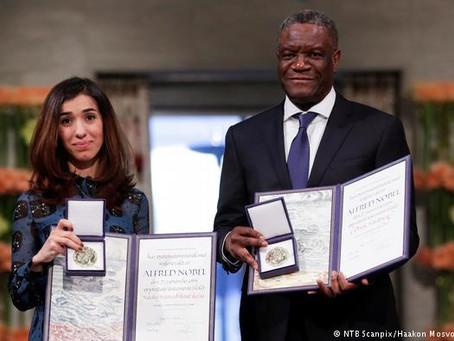 Discours du Docteur Denis Mukwege  lors de la Cérémonie du Prix Nobel de la Paix 2018