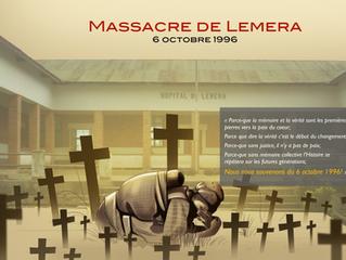 """""""Massacre de Lemera, le 6 octobre 1996, je me souviens..."""""""