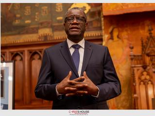 Urgent: Communiqué du Dr. Mukwege: «La Pandémie Covid-19 ne doit pas nous faire oublier les massacr