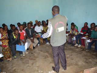Une équipe de la Fondation Panzi participe à la riposte contre Ebola à Mwenga