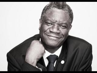 Le Docteur Denis Mukwege, Prix Nobel de la Paix 2018