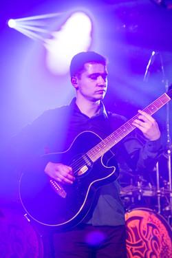 Stefan an der Gitarre