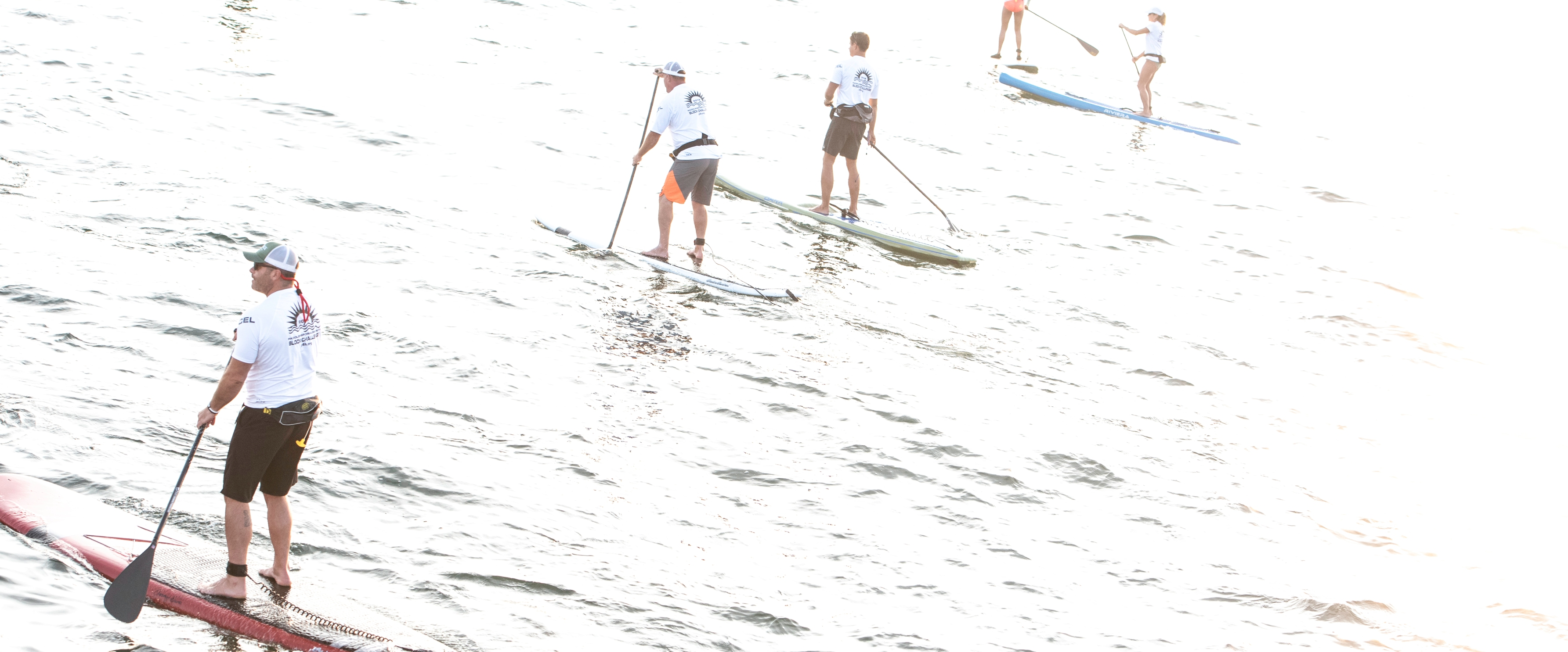 DV Paddlers whited out