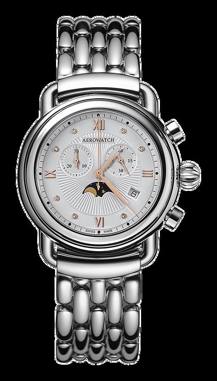 Aérowatch - Chronographe Phase de Lune Quartz