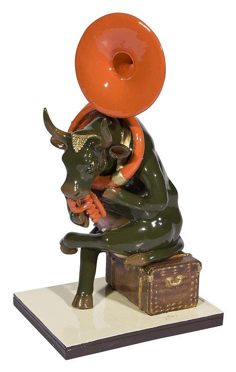CowParade - 47901 Josephine au Trombone