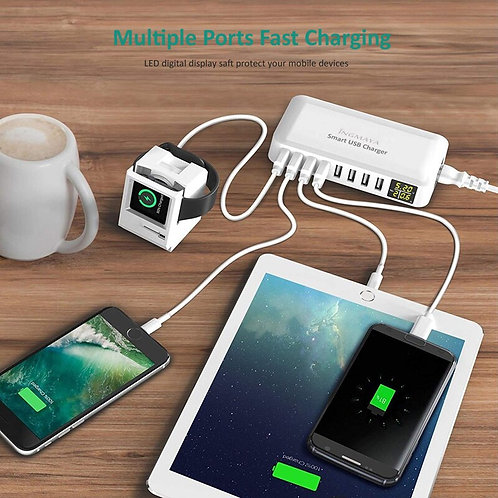 Multi Port Charger 8A