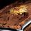 Reuge Dolce Vita Music Box, wood inlay close-up